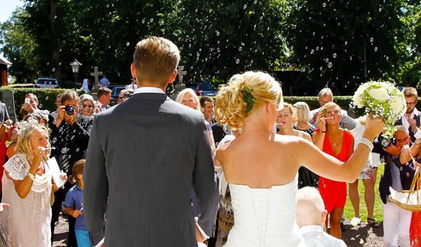 Bröllop, Skänninge, Fotograf Anders Bergsten